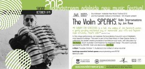 SS Violin Speaks eflyer